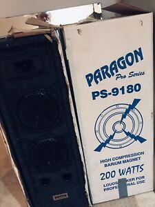 Pair of Paragon Speakers