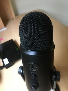 Microphone audio recording equipment