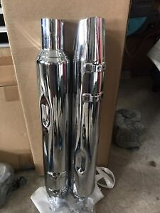 Harley 2017 Ultra Limited stock exhaust Pipes