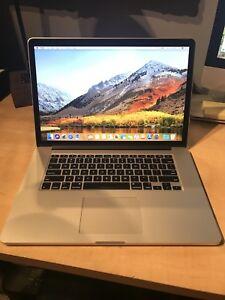 15in Macbook Pro Retina Core i7, 16gb Ram, 1 month old! Mint!