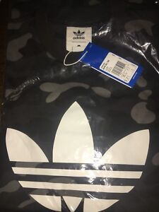 BAPE x ADIDAS - Cinder (black) Camo T-shirt in SMALL ($200)