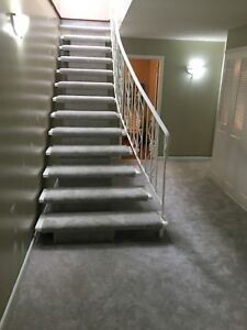 CARPET STAIR INSTALLATION TOP QUALITY OF WORKKK!!!