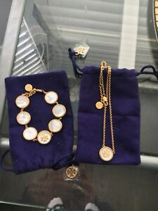 Beautiful New Tory Burch bracelet n necklace