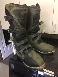 Thor motorcycle boots  size 14