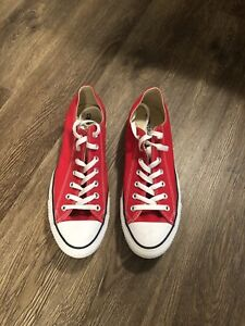 New Red Converse All Star