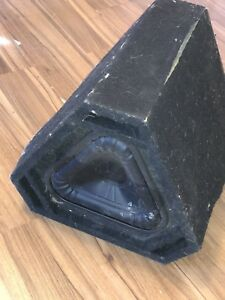 1 Bazooka triangle subwoofer for sale