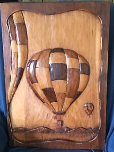 Hot air balloon carving for sale