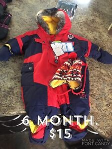 6month snow suit BNWT