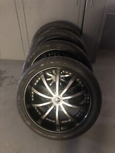 Lexani tires on  265 40r 22s