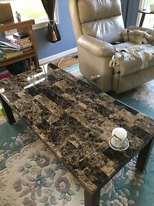 Coffee table and end table   SOLD