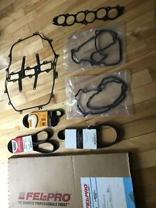 Gasket , belts and also lower radiator hose brand new