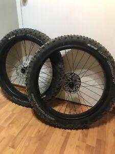 Fat bike carbon wheels no tires