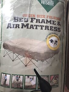 Inflatable queen size Bed Rutherford Maitland Area Preview