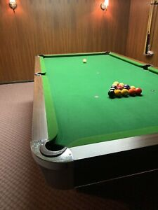 National awesome antique pool table for sale