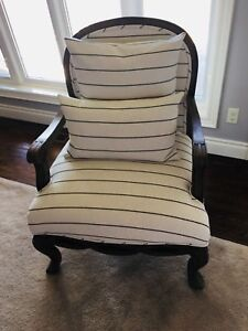 SOLD - Newly Refurbished Accent Chair