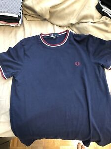 Fred Perry High Collar T-Shirt