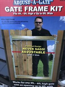 Adjust A Gate - Gate Frame in a box. Brand new