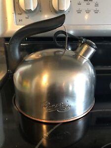 revere ware copper bottom kettle