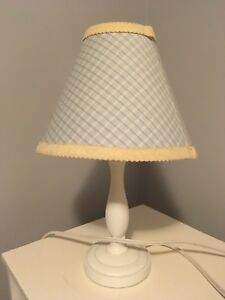 Blue and Pale Yellow Lamp