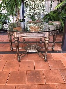 Vintage look glass coffee table Eden Hill Bassendean Area Preview