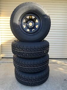 Brand new Nissan Navara 16x8 wheels with new 265/75R16 (32 inch) A/T's Caboolture Caboolture Area Preview