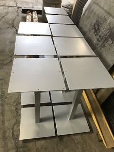 Metal table legs and for sale ( powder coated )