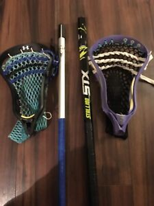 80 $ each lacrosse stick but two for 140