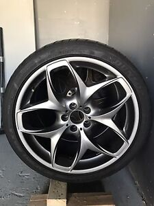 "21"" BMW rims and tires $2200 OBO"