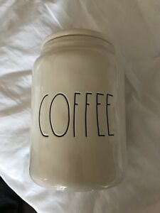 Rae Dunn coffee large canister bnwt