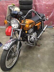 Yamaha 750 double.