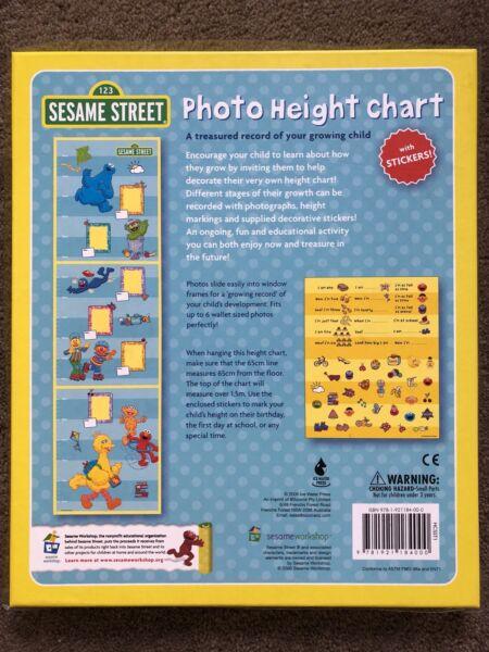 Sesame Street Height Chart Other Baby Children Gumtree
