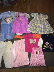 Spring - summer girl lot 6 months