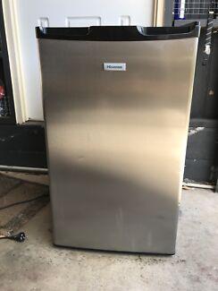 Stainless bar fridge 100 ltr  with built in freezer