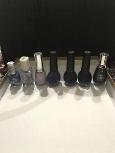 7 nail polishes