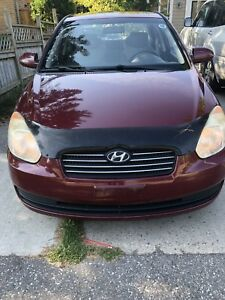 2008 Hyundai Accent 144000km with Safety