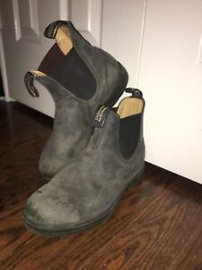 Blundstone all back boots size 7.5 us