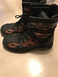 Men's Motorcycle boots Size 13