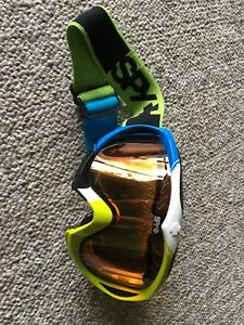 Youth spy snowboard goggles