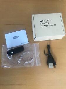 Bluetooth headset in ear/over ear wireless mic