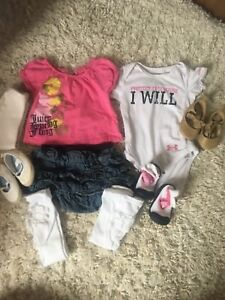 3-6 month girls clothing lot-60 items