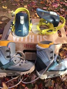 Snowboard Boots with clip in bindings