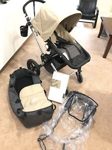 Bugaboo Cameleon stroller with accessories