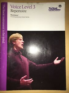 Royal Conservatory Voice Level 3 with CD