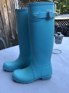 Baby Blue Hunter Boots