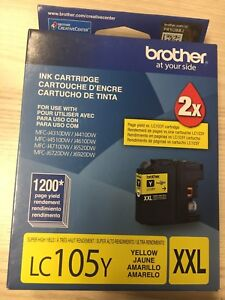 Brother LC-105 y XXL ink cartridge