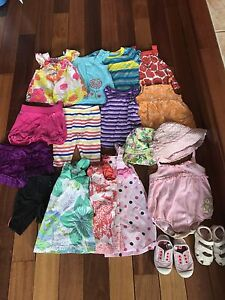 12-18 months girls clothing lot