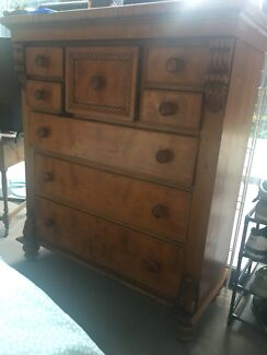 Antique Dresser Drawers