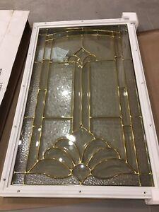 22 x 36 Decorative Glass Door Insert