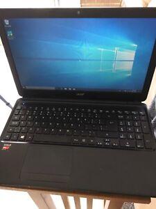 """Fast ACER E1-522 15.6"""" QUADCORE 6GB/120GB SSD win10/office Hdmi"""