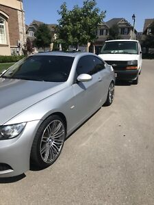 2008 BMW 335i - Coupe with M3 Bumper